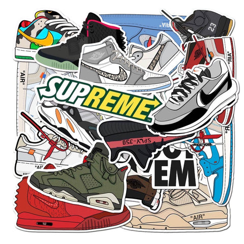 Hypebeast Stickers (Pack of 20)