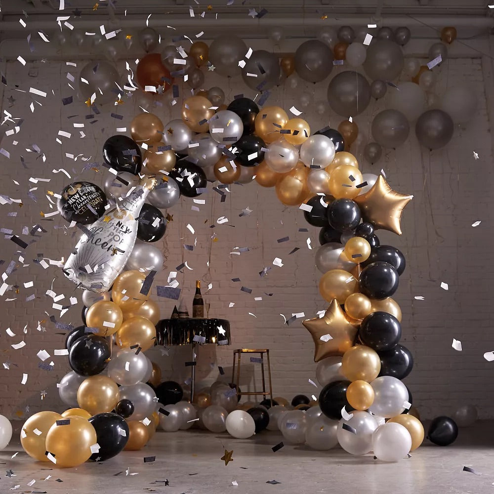 New Years Cheers Balloon Arch