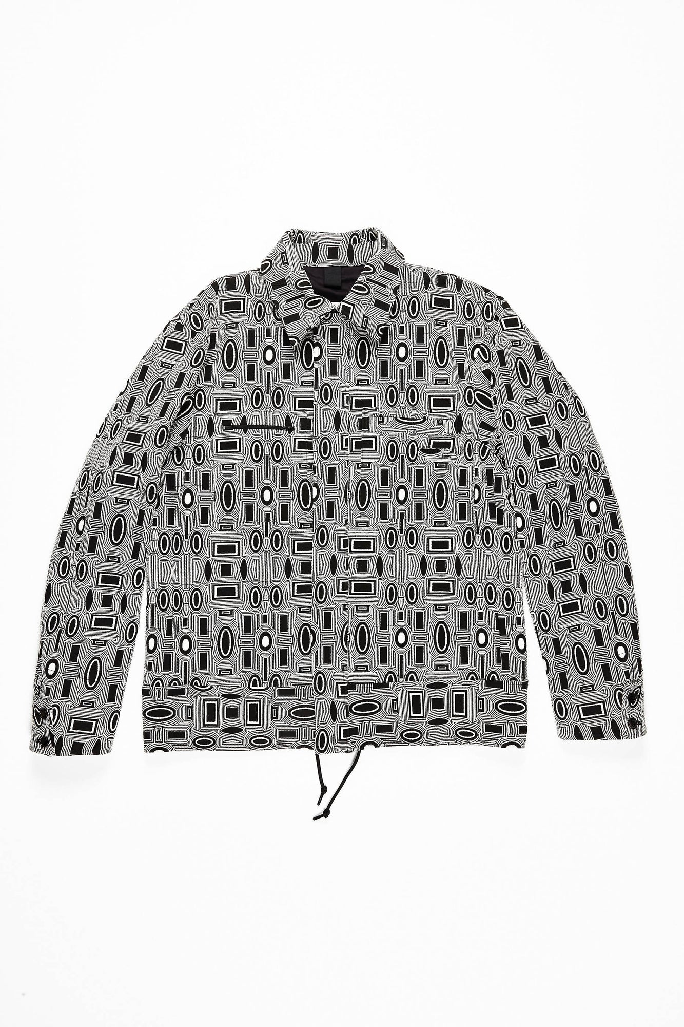 Theo - Graphic Print Coach Jacket