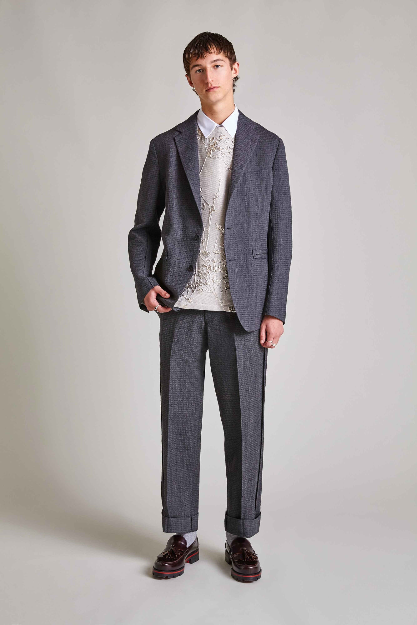 Calder - Wool Unstructured Jacket