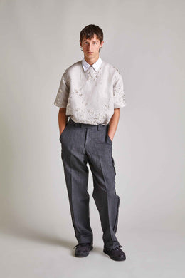 Caro - Wool Inside-Out Trousers