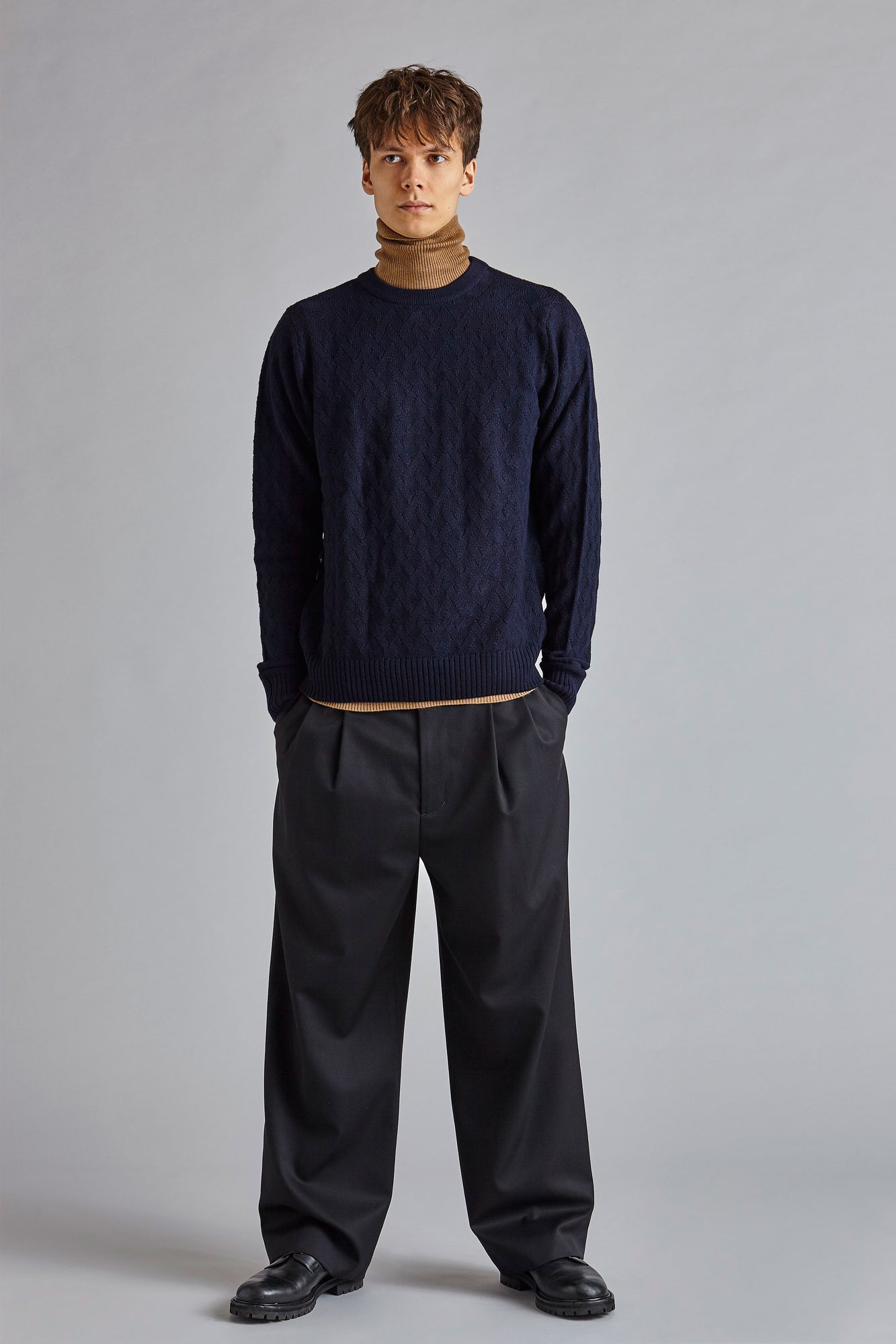 Lucas - Wool Diamond Jumper