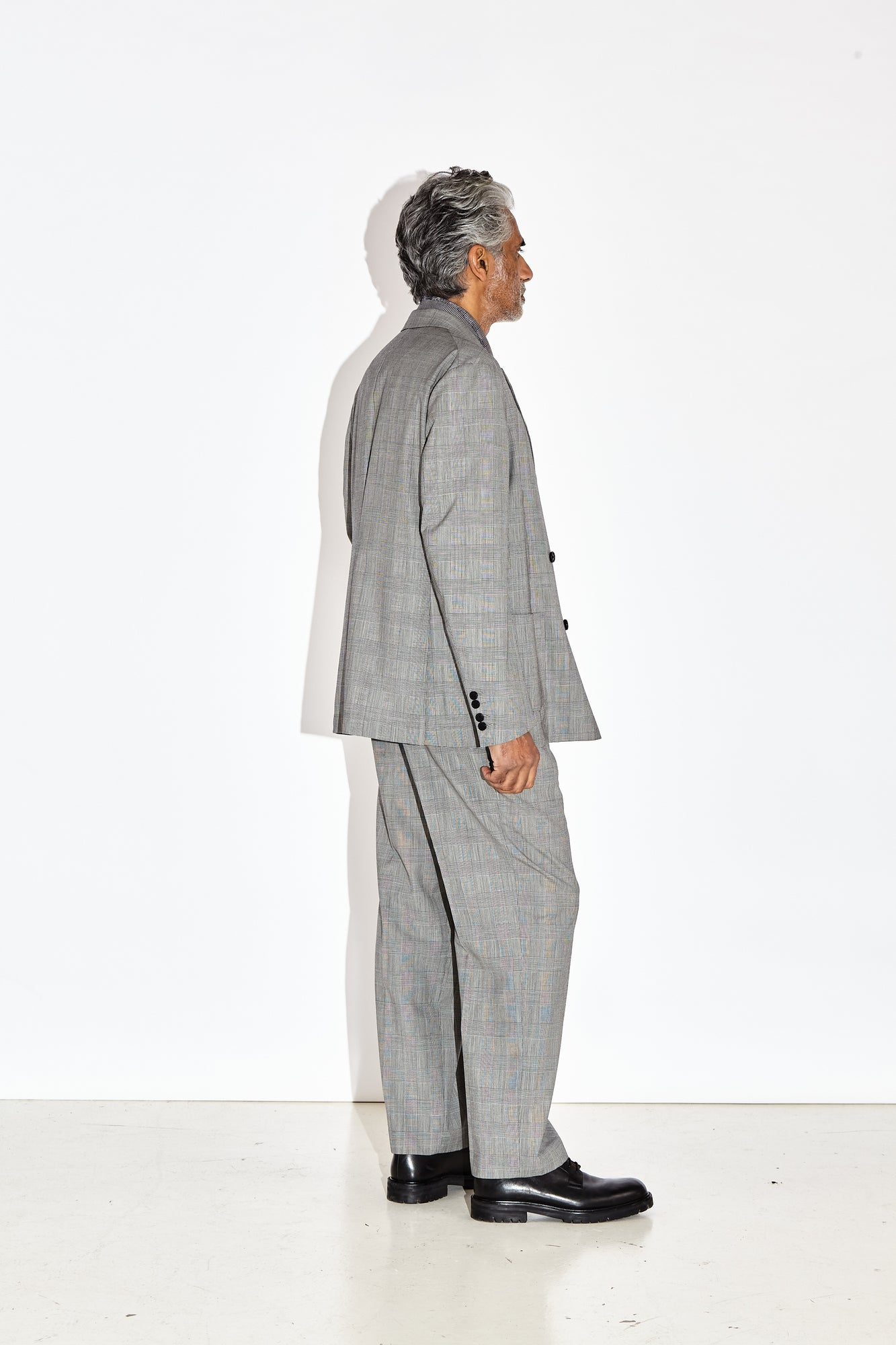 Koston - Grey Prince Of Wales Check Jacket
