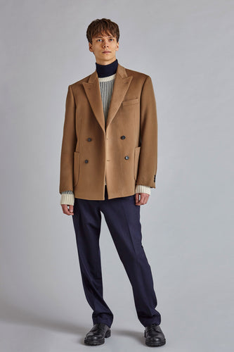 Koston - Camel Wool Cashmere Jacket