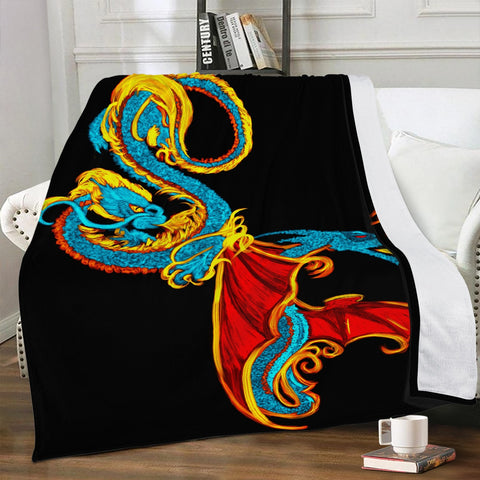 227. Trends Dual-sided Stitched Fleece Blanket