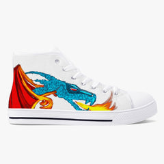 Serpentine Fire High-Top Canvas Shoes