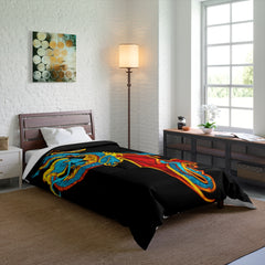 Serpentine Fire Comforter