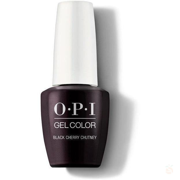 OPI GelColor - Black Cherry Chutney-Orange Nail Supply