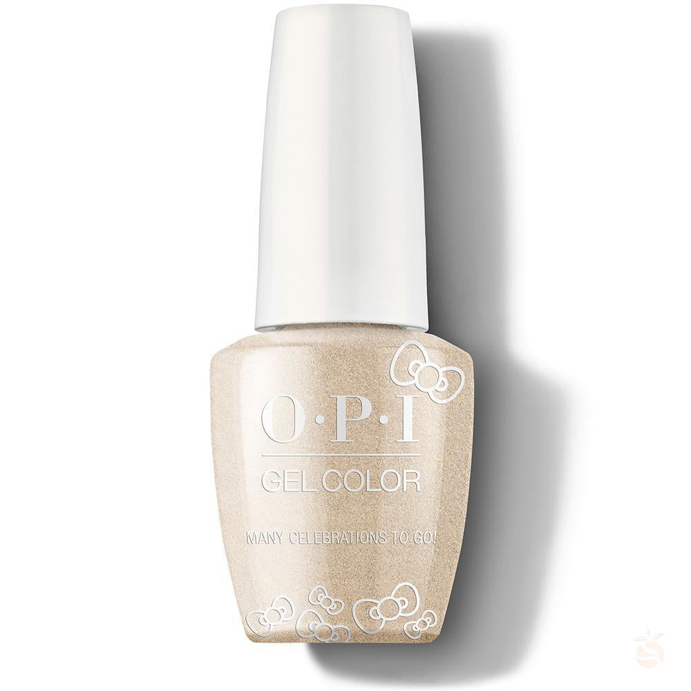 OPI GelColor - Many Celebrations To Go!-Orange Nail Supply