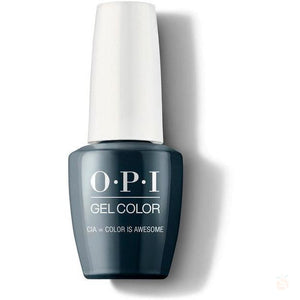 OPI GelColor - CIA = Color Is Awesome-Orange Nail Supply