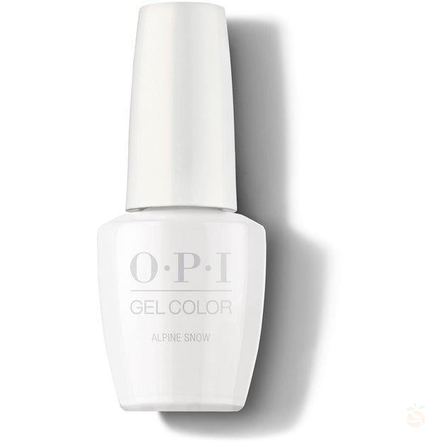 OPI GelColor - Alpine Snow-Orange Nail Supply