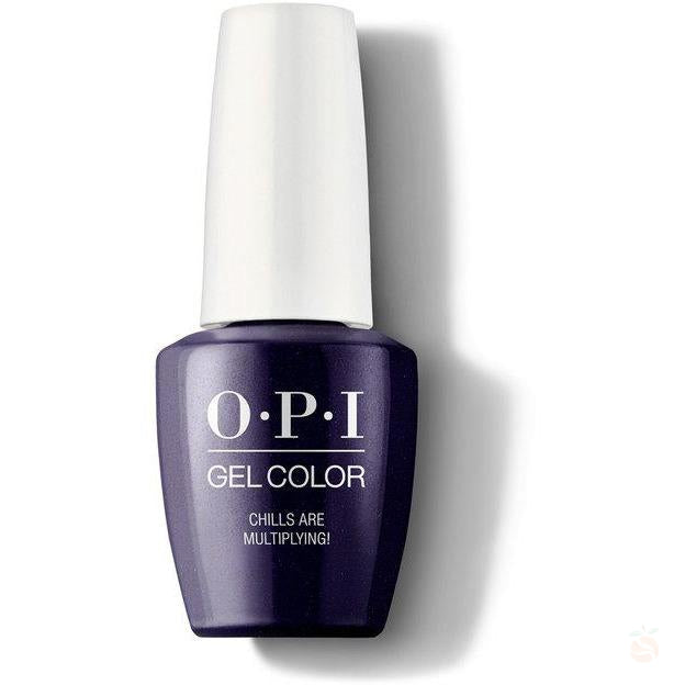 OPI GelColor - Chills Are Multiplying!-Orange Nail Supply