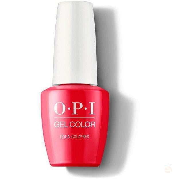 OPI GelColor - Coca-Cola Red-Orange Nail Supply