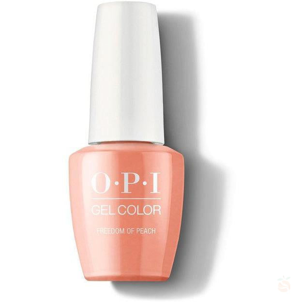 OPI GelColor - Freedom Of Peach-Orange Nail Supply