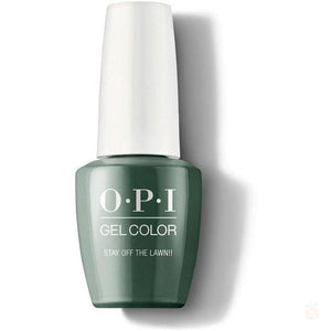 OPI GelColor - Stay Off The Lawn!!-Orange Nail Supply