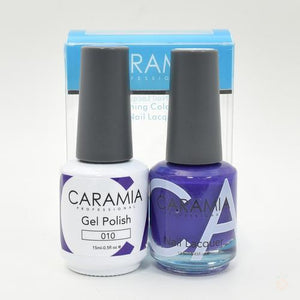 Caramia Duo Gel & Polish Set #10-Orange Nail Supply