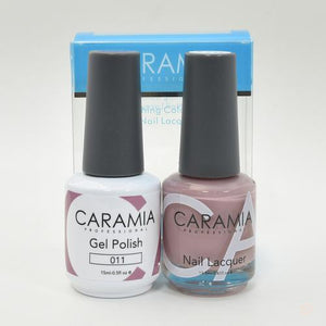 Caramia Duo Gel & Polish Set #11-Orange Nail Supply