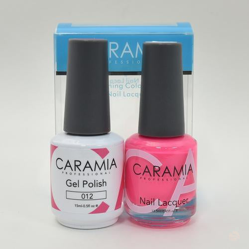 Caramia Duo Gel & Polish Set #12-Orange Nail Supply