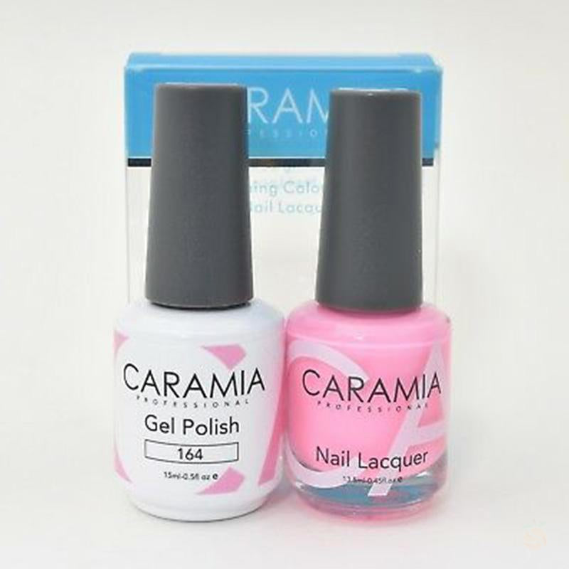Caramia Duo Gel & Polish Set #164-Orange Nail Supply