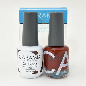 Caramia Duo Gel & Polish Set #179-Orange Nail Supply