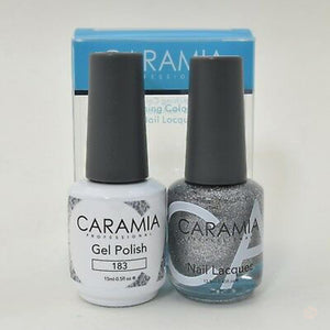 Caramia Duo Gel & Polish Set #183-Orange Nail Supply