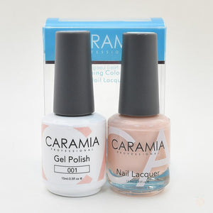 Caramia Duo Gel & Polish Set #1-Orange Nail Supply