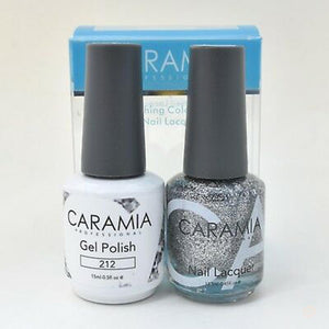 Caramia Duo Gel & Polish Set #212-Orange Nail Supply