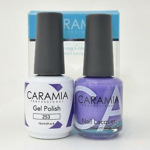 Caramia Duo Gel & Polish Set #253-Orange Nail Supply