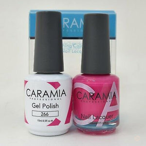 Caramia Duo Gel & Polish Set #266-Orange Nail Supply