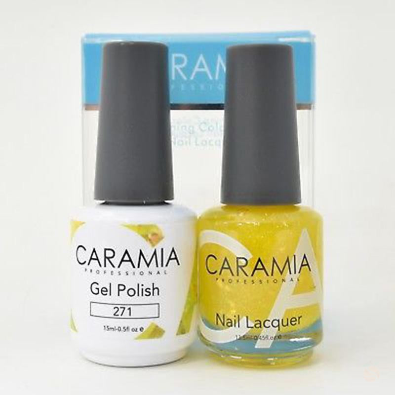 Caramia Duo Gel & Polish Set #271-Orange Nail Supply