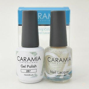 Caramia Duo Gel & Polish Set #287-Orange Nail Supply