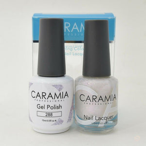 Caramia Duo Gel & Polish Set #288-Orange Nail Supply