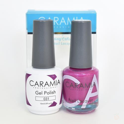 Caramia Duo Gel & Polish Set #31-Orange Nail Supply