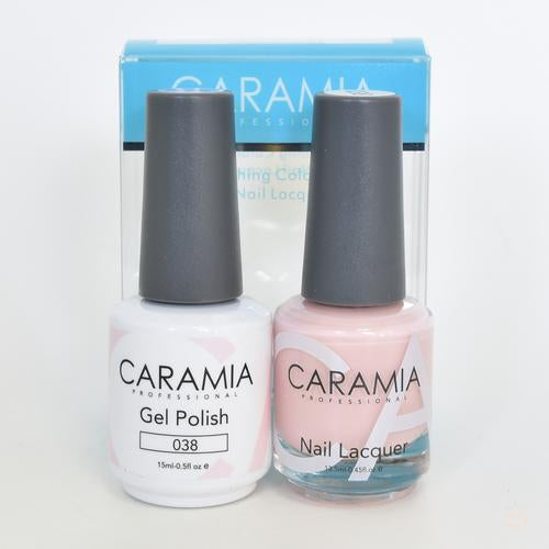 Caramia Duo Gel & Polish Set #38-Orange Nail Supply