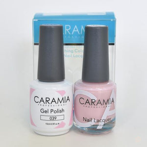Caramia Duo Gel & Polish Set #39-Orange Nail Supply