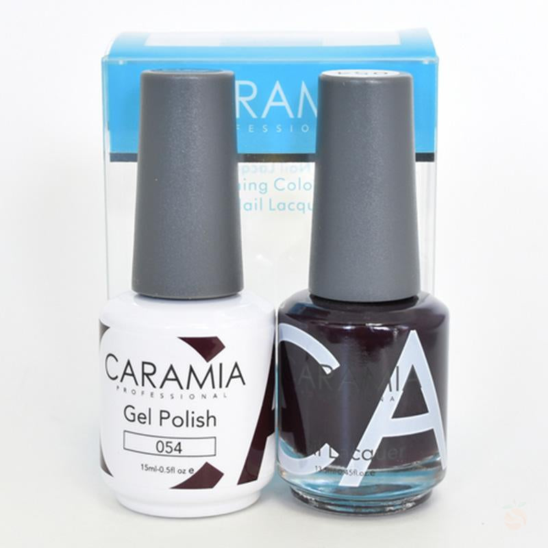 Caramia Duo Gel & Polish Set #54-Orange Nail Supply