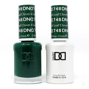 DND - Gel & Lacquer - 4 Leaf Clover - #748-Orange Nail Supply