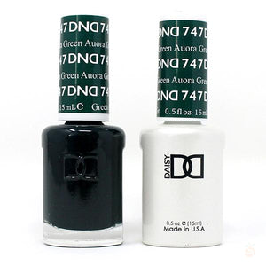 DND - Gel & Lacquer - Aurora Green - #747-Orange Nail Supply