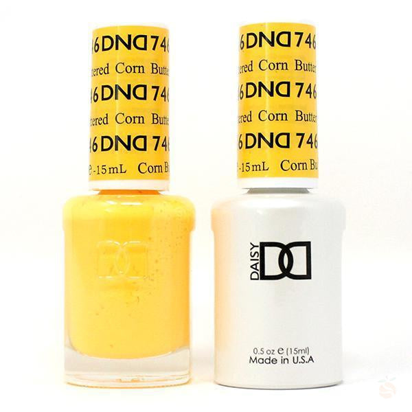 DND - Gel & Lacquer - Buttered Corn - #746-Orange Nail Supply