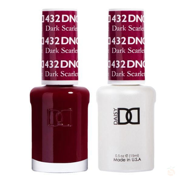 DND - Gel & Lacquer - Dark Scarlet - #432-Orange Nail Supply