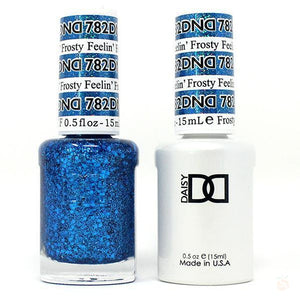 DND - Gel & Lacquer - Feelin' Frosty - #782-Orange Nail Supply