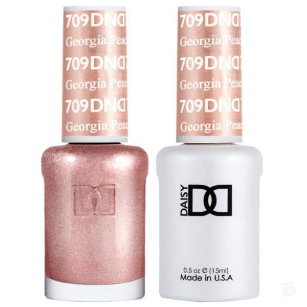DND - Gel & Lacquer - Georgia Peach - #709-Orange Nail Supply