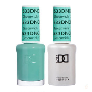 DND - Gel & Lacquer - Greenwich, CN - #533-Orange Nail Supply