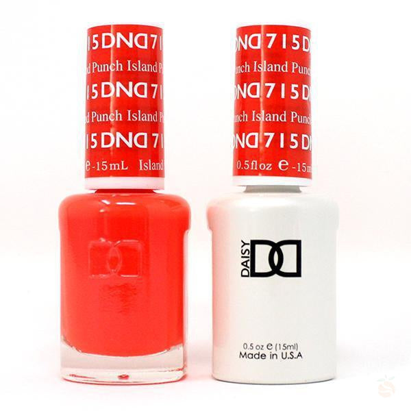 DND - Gel & Lacquer - Island Punch - #715-Orange Nail Supply