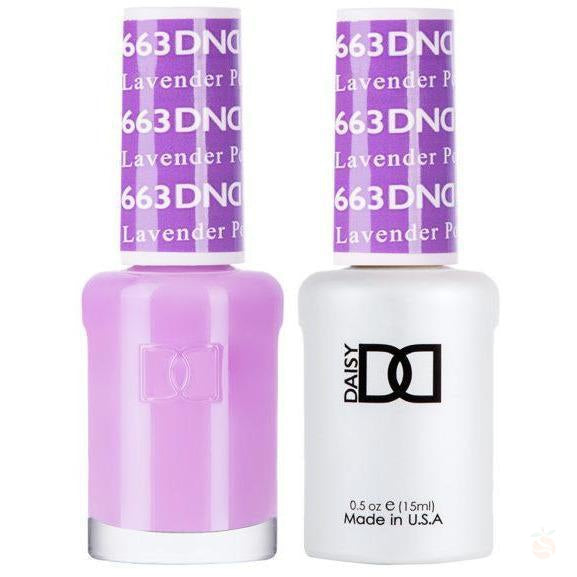 DND - Gel & Lacquer - Lavender Pop - #663-Orange Nail Supply