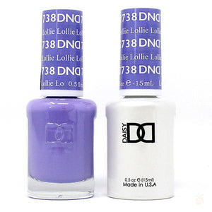 DND - Gel & Lacquer - Lollie - #738-Orange Nail Supply
