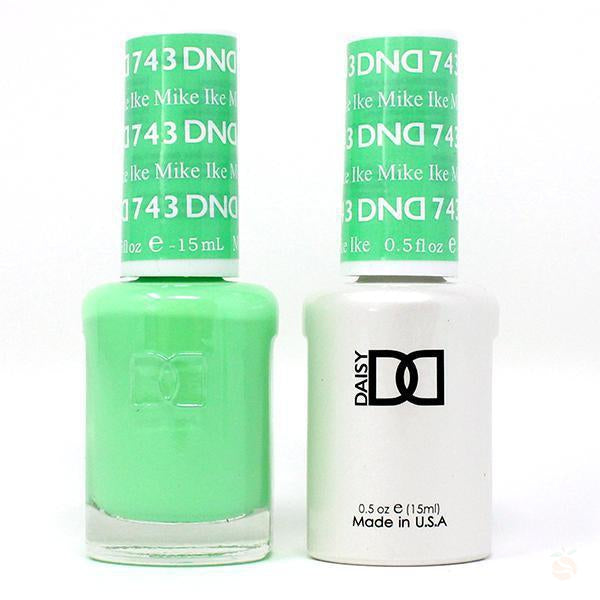 DND - Gel & Lacquer - Mike Ike - #743-Orange Nail Supply