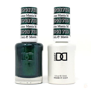 DND - Gel & Lacquer - Mistletoe Mania - #766-Orange Nail Supply