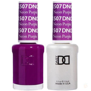 DND - Gel & Lacquer - Neon Purple - #507-Orange Nail Supply