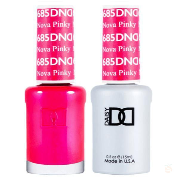 DND - Gel & Lacquer - Nova Pinky - #685-Orange Nail Supply